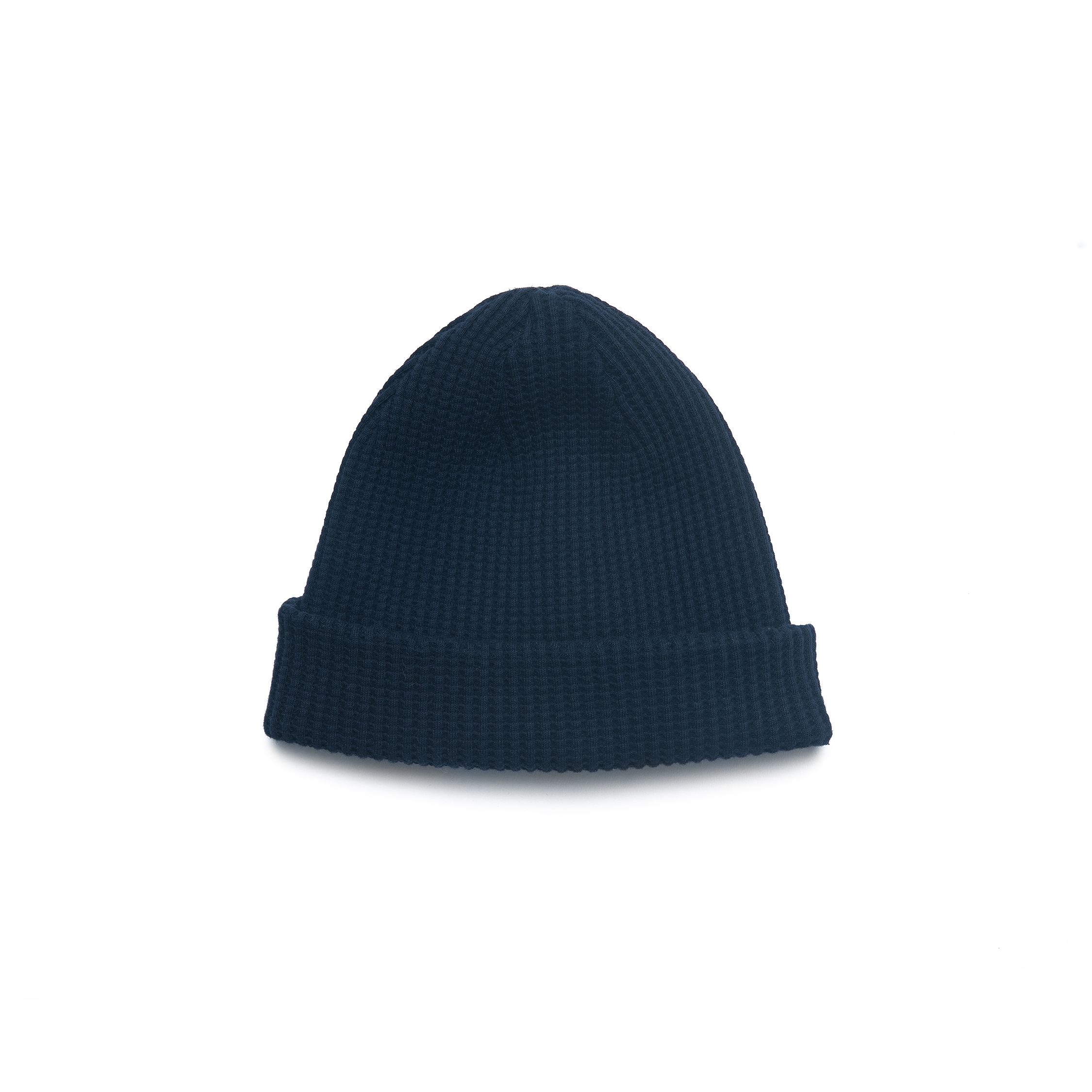 Homesun Knitwear Heavyweight Thermal Knit Cap :: Indigo