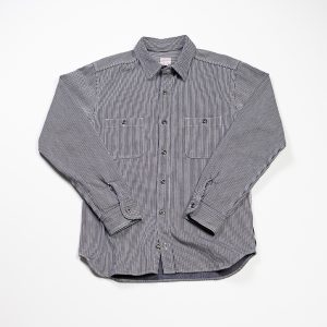 Hickory Stripe Shirt // Indigo