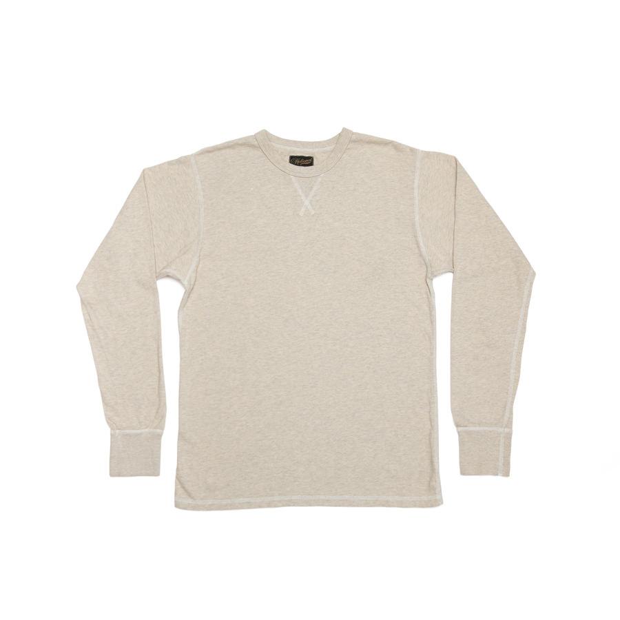 Heavyweight Long Sleeve Gym Tee // Oatmeal