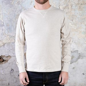 Heavyweight Long Sleeve Gym Tee // Oatmeal