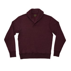 Raglan Shawl Pulllover Fleece // Merlot