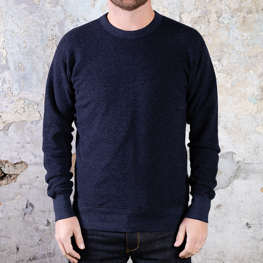 National Athletic Goods Raglan Warm Up Fleece :: Dark Indigo