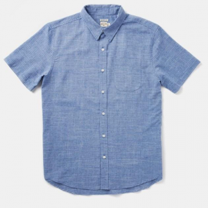 Harbor Shirt // Blue Pinstripe