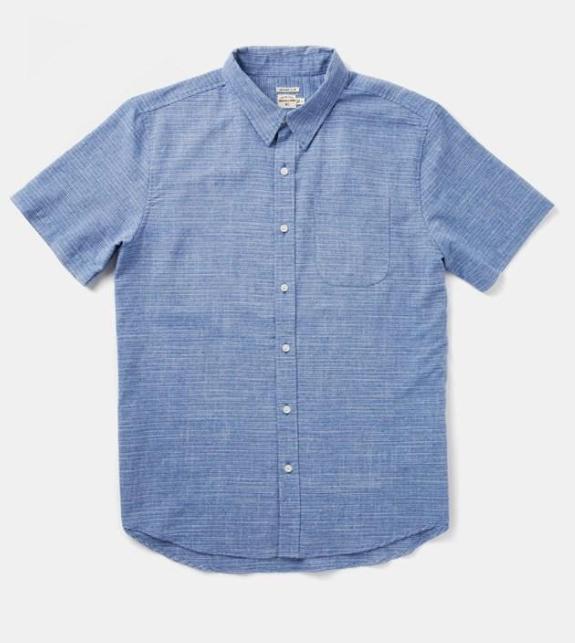 Harbor Shirt // Blue Pinstripe