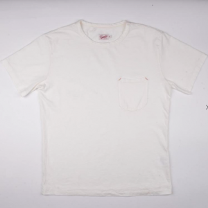 Pocket Tee 9oz // White