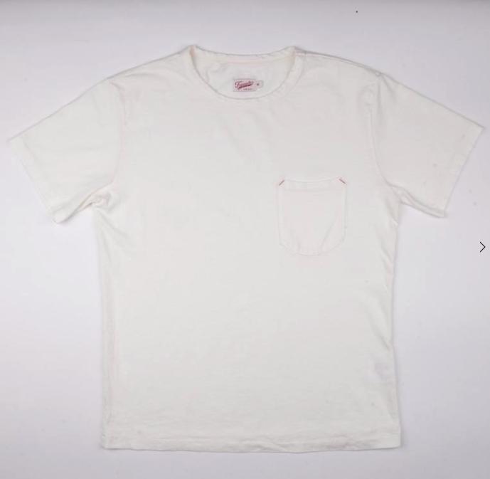 Pocket Tee 9oz // White